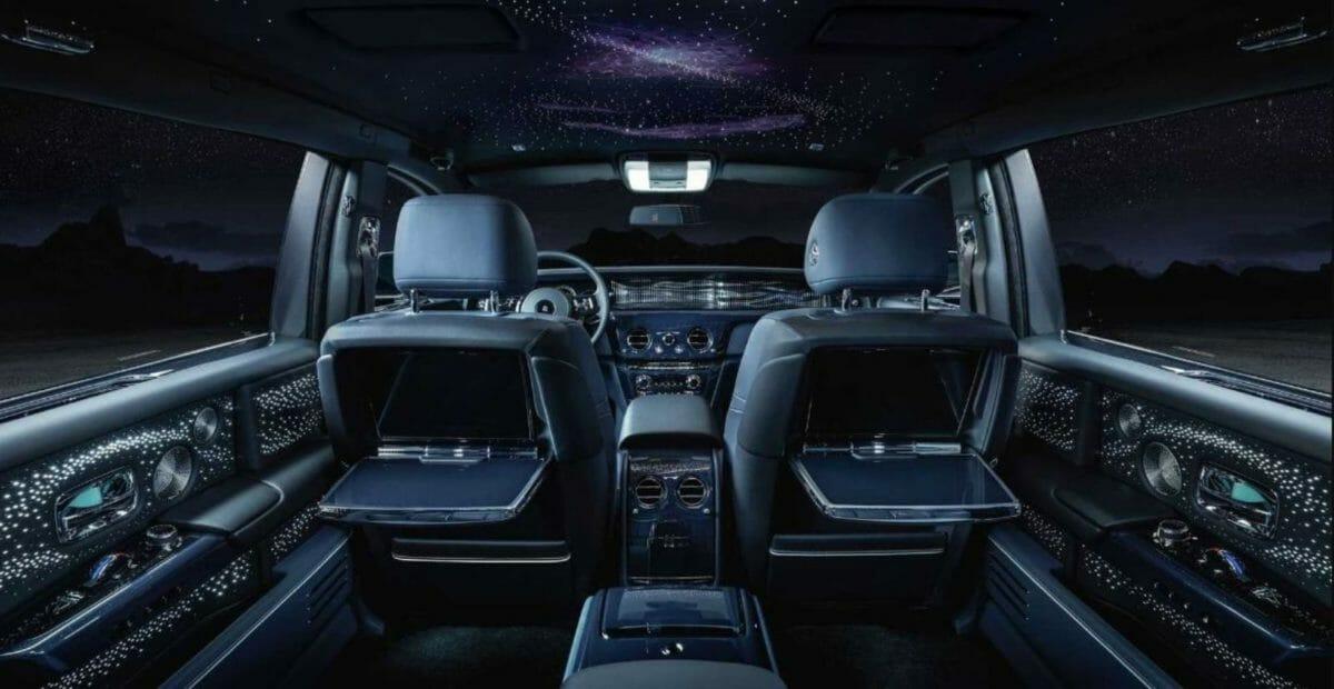 Rolls Royce Phantom Tempus interiors