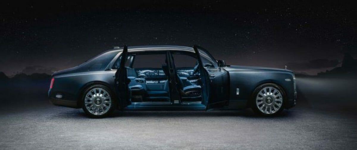 Rolls Royce Phantom Tempus side look