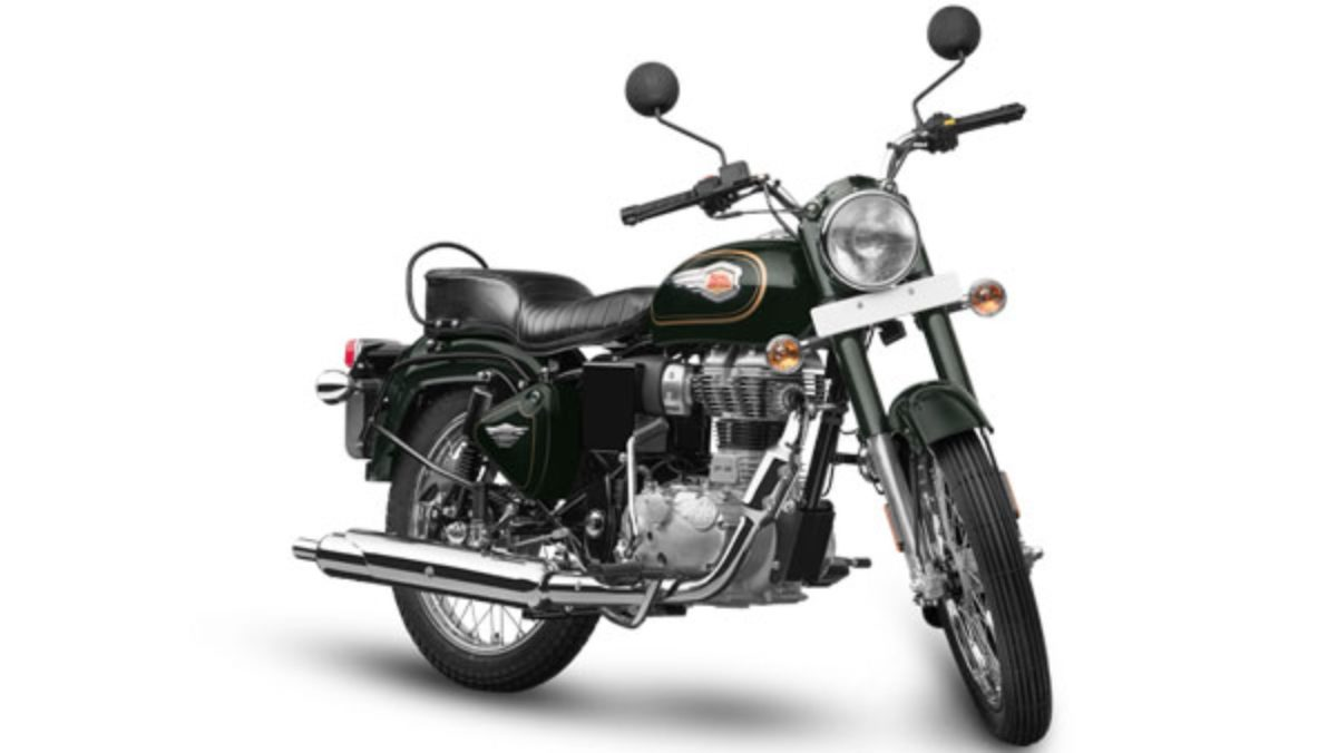 Royal Enfield Bullet 350 Forest green (1)