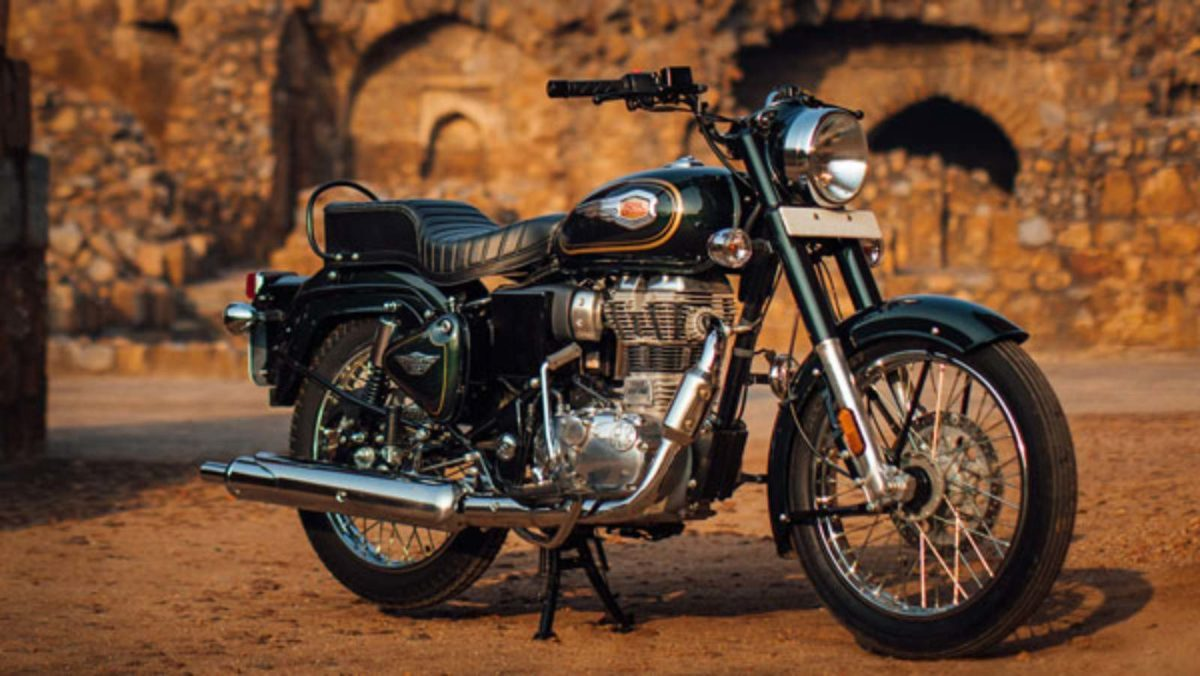 Royal Enfield Bullet 350 Forest green (3)