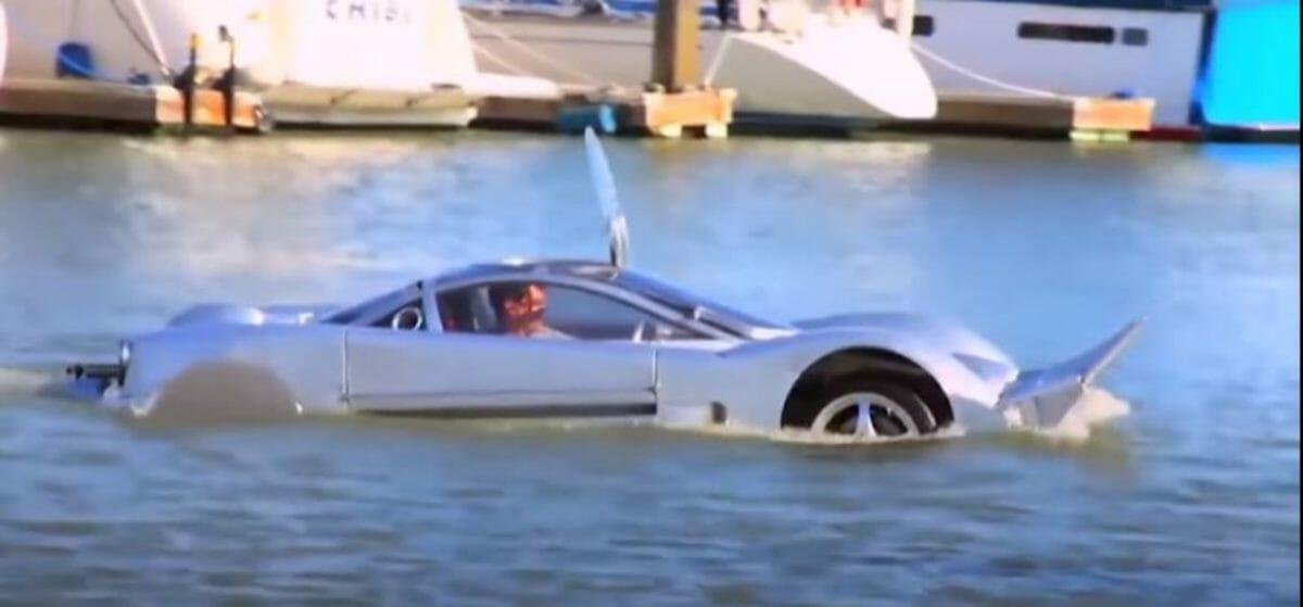 Sea lion – amphibious car