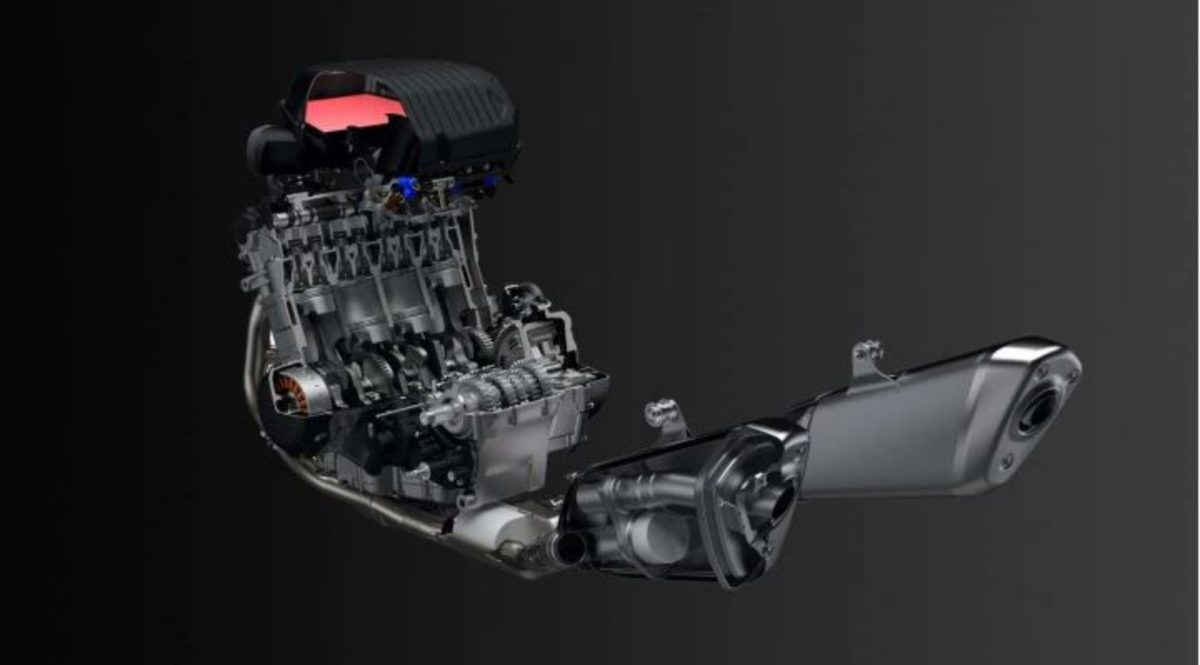 Suzuki Hayabusa 2021 engine