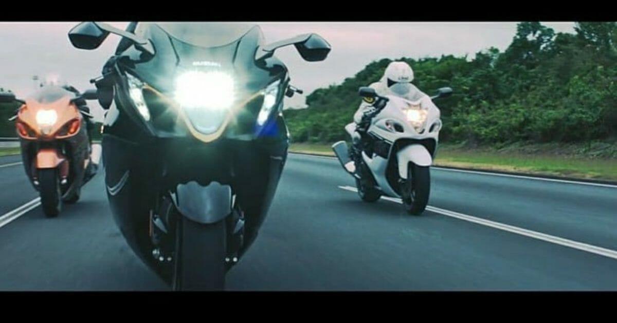 Suzuki Hayabusa 2021 leaked video (2)