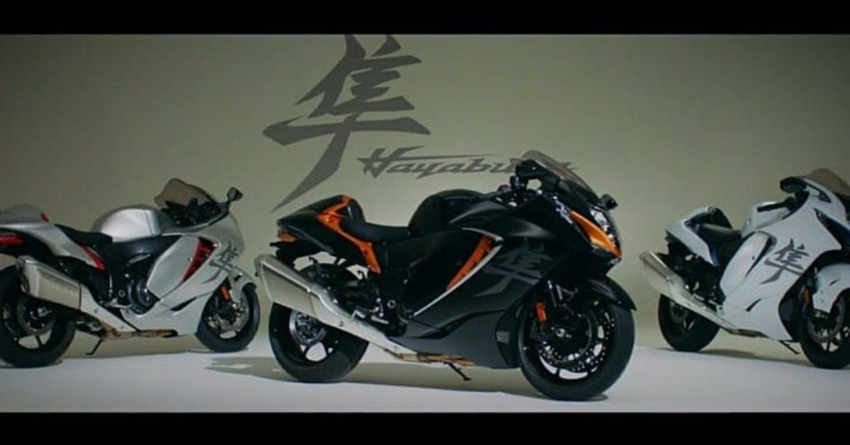 Suzuki Hayabusa 2021 leaked video (4)