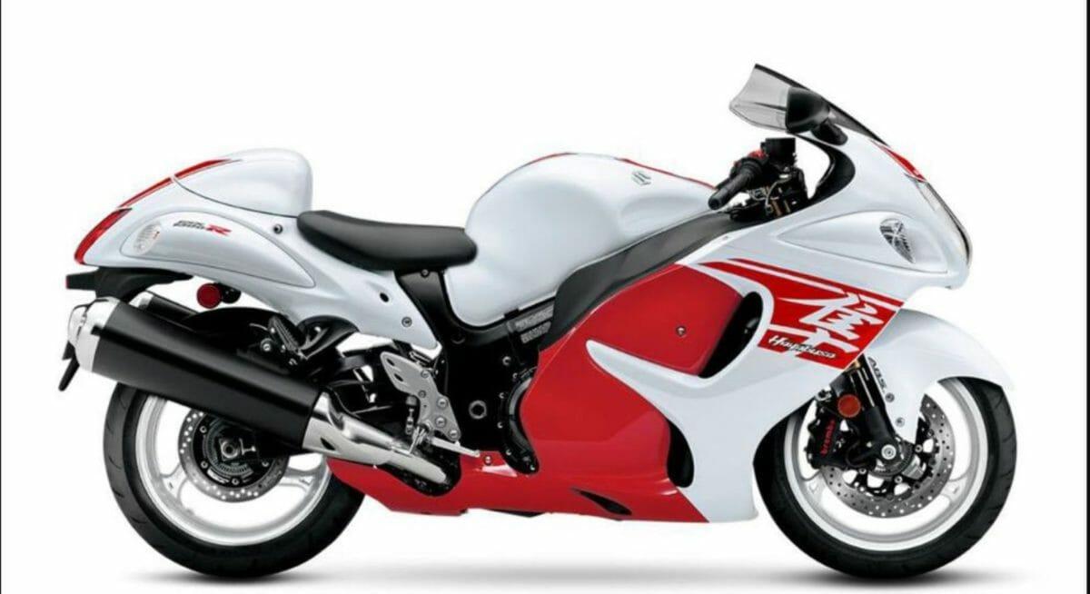 Suzuki Hayabusa 2021 side look