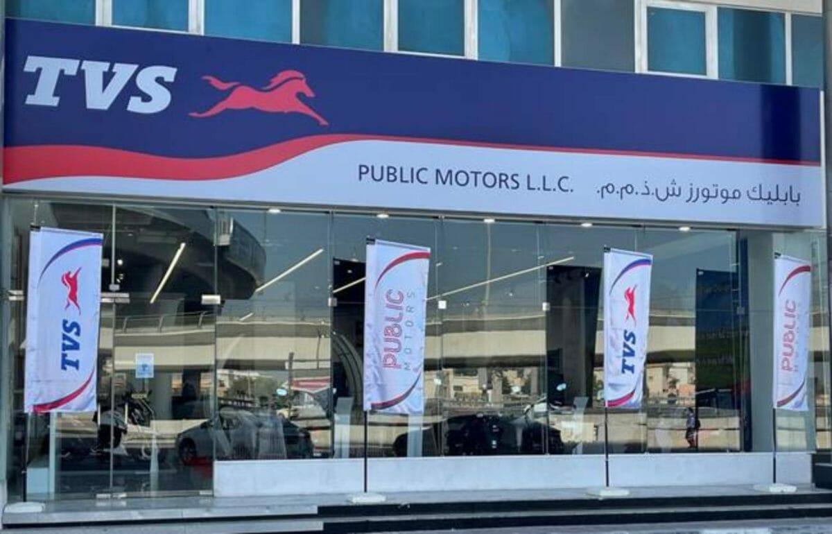 TVS Motors in UAE 1