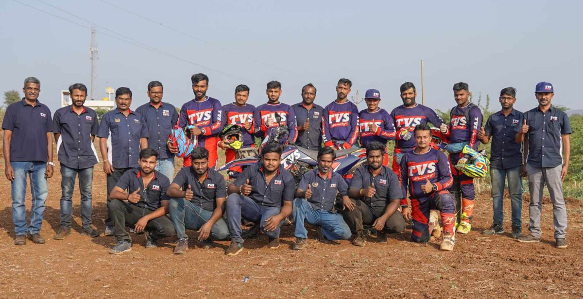 TVS Racing crowned champion in 2020 Indian National Rally Championship