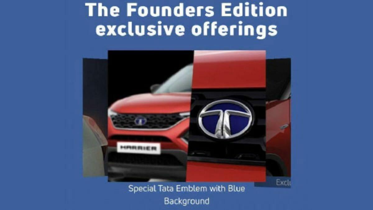 Tata Motors founders edition