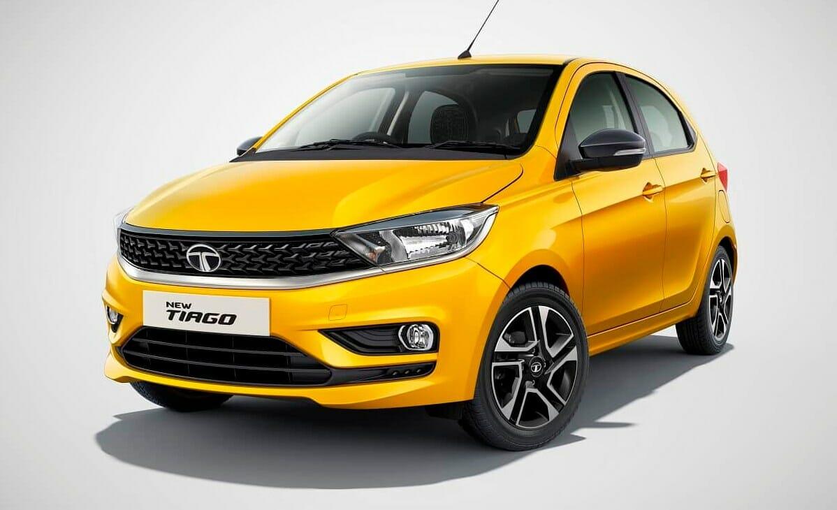 Tata tiago yellow colour