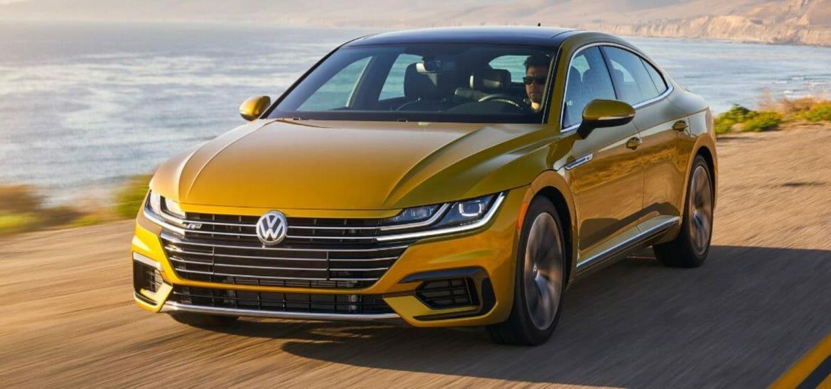 Volkswagen Arteon front 3 quarters