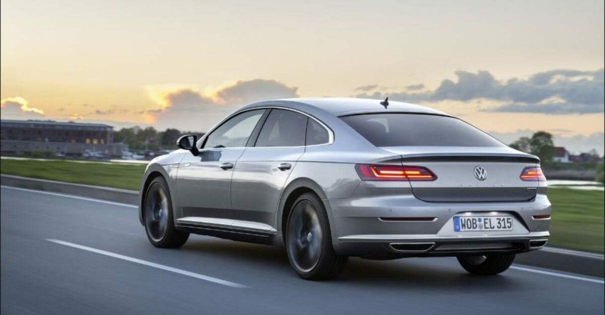 Volkswagen Arteon rear 3 quarters