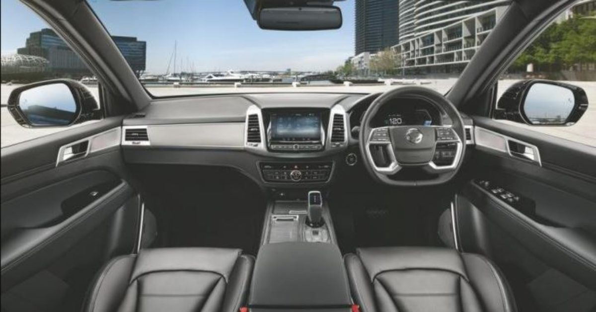 2021 Ssangyong Rexton interiors