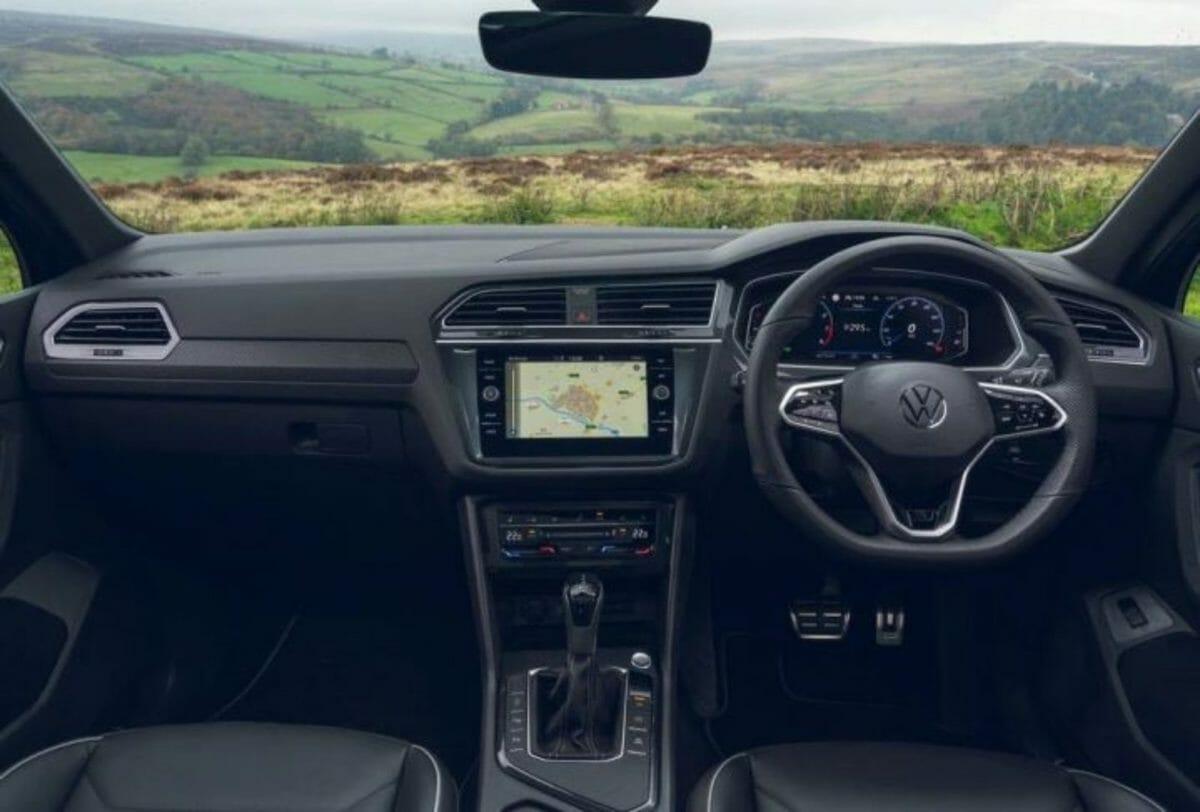 2021 VW Tiguan interiors