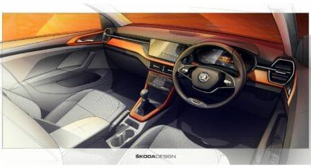 20210303_SKODA KUSHAQ -Interior Design Sketches (1)
