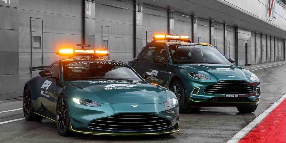 Aston Martin 2021 F1 safety and medical car