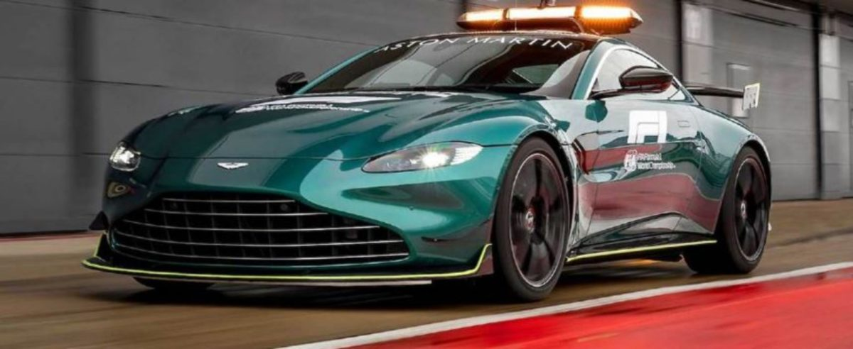 Aston Martin 2021 F1 safety car