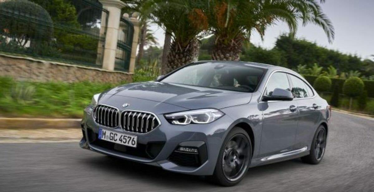 BMW 220i Sport front 3 quarters