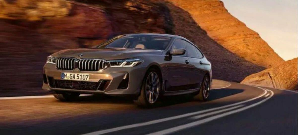 BMW 6-series GT facelift front 3 quarters