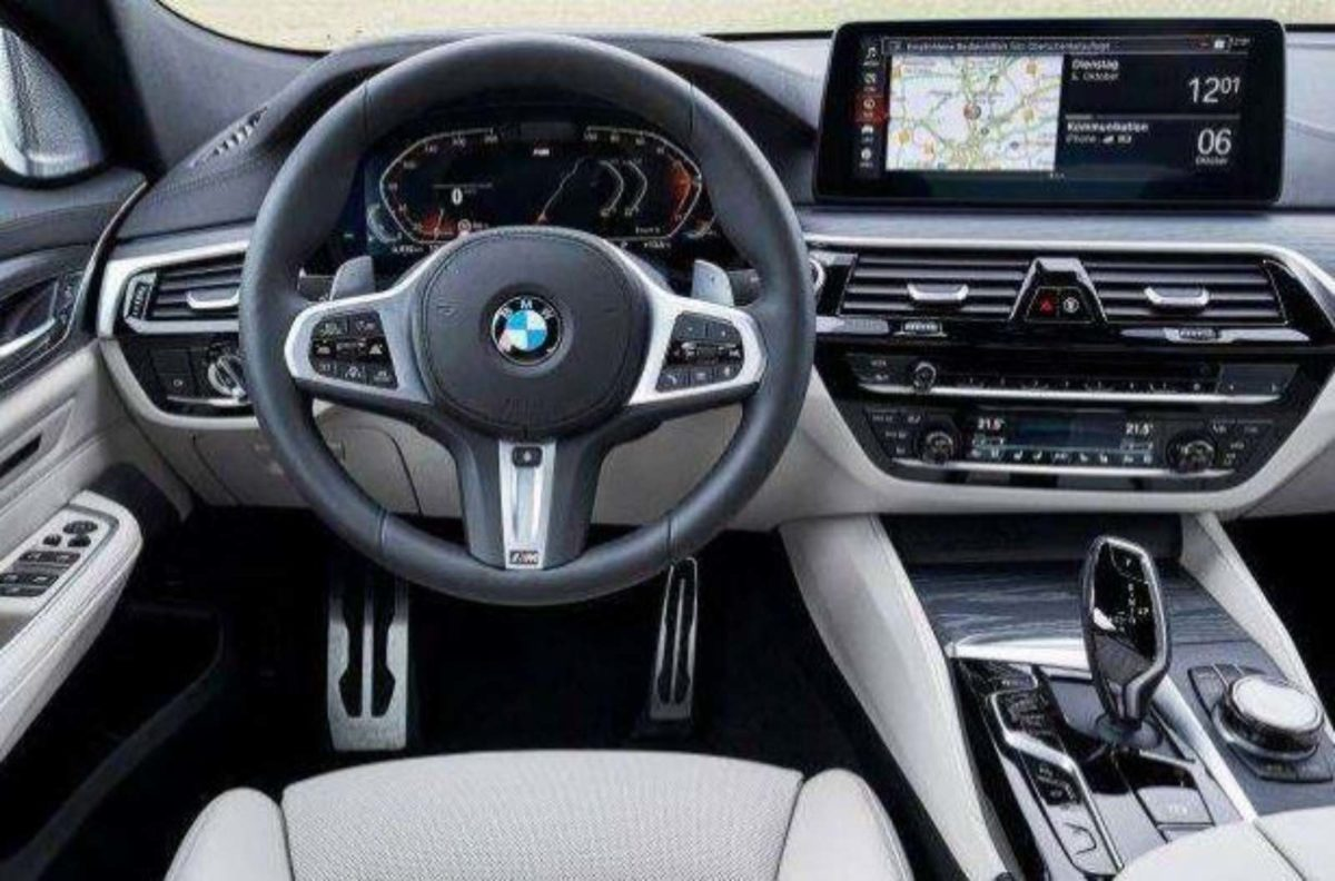 BMW 6-series GT facelift interiors