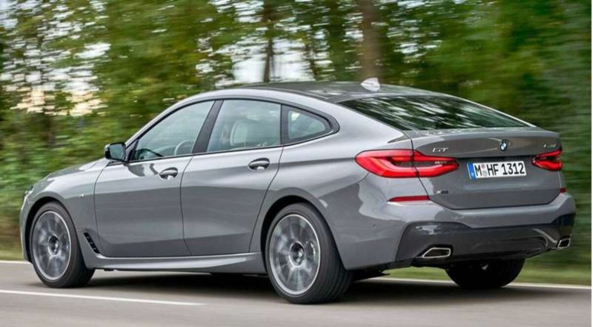 BMW 6-series GT facelift rear 3 quarters