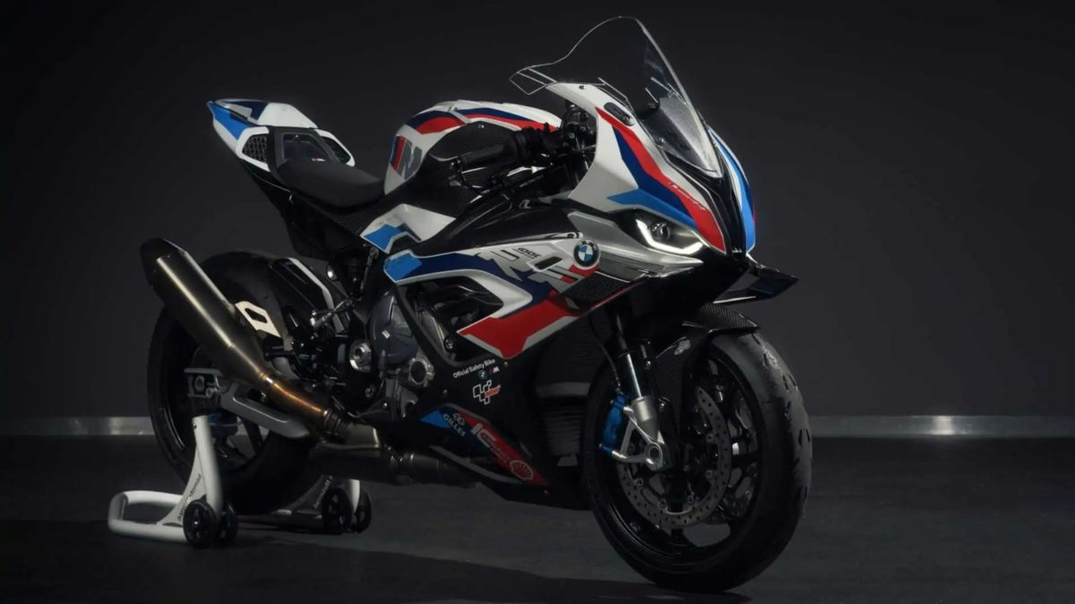 BMW M1000RR MotoGP safety bike (2)