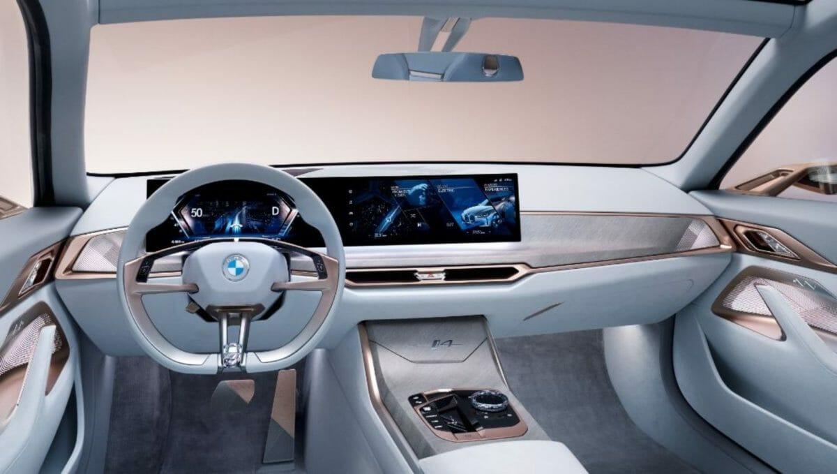 BMW i4 interiors