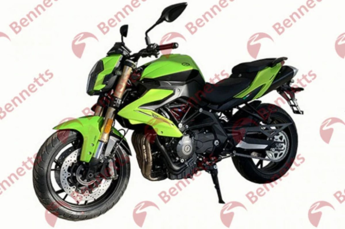 Benelli TNT 600i leaked dcoument