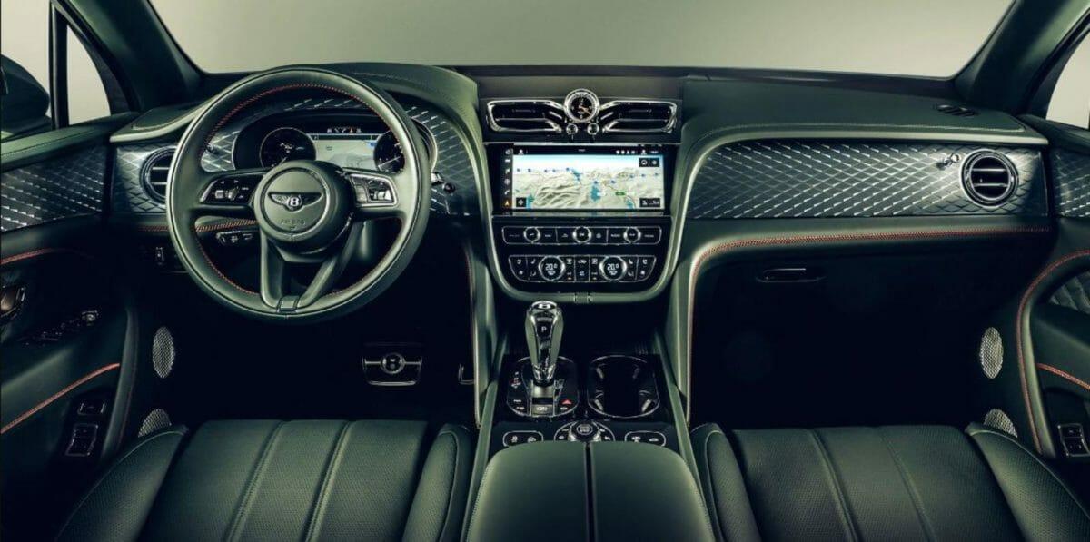 Bentley Bentayga facelift interiors