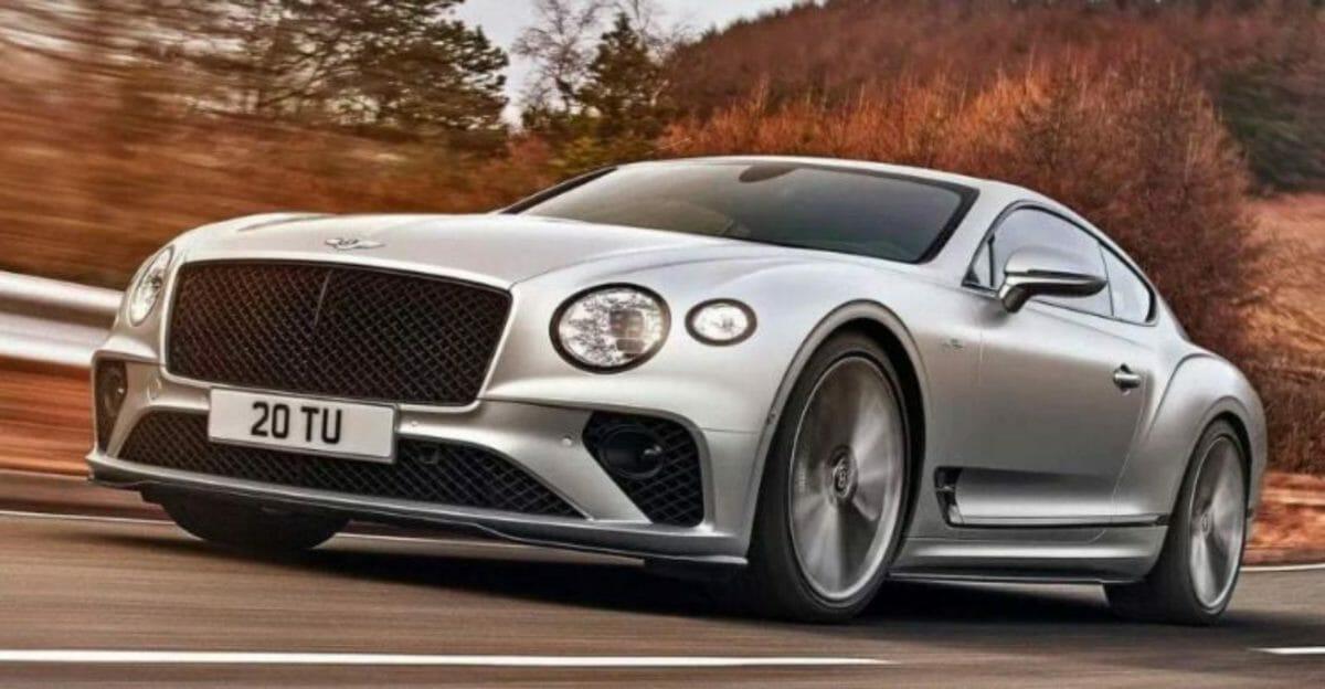 Bentley Continental GT Speed front 3 quarters