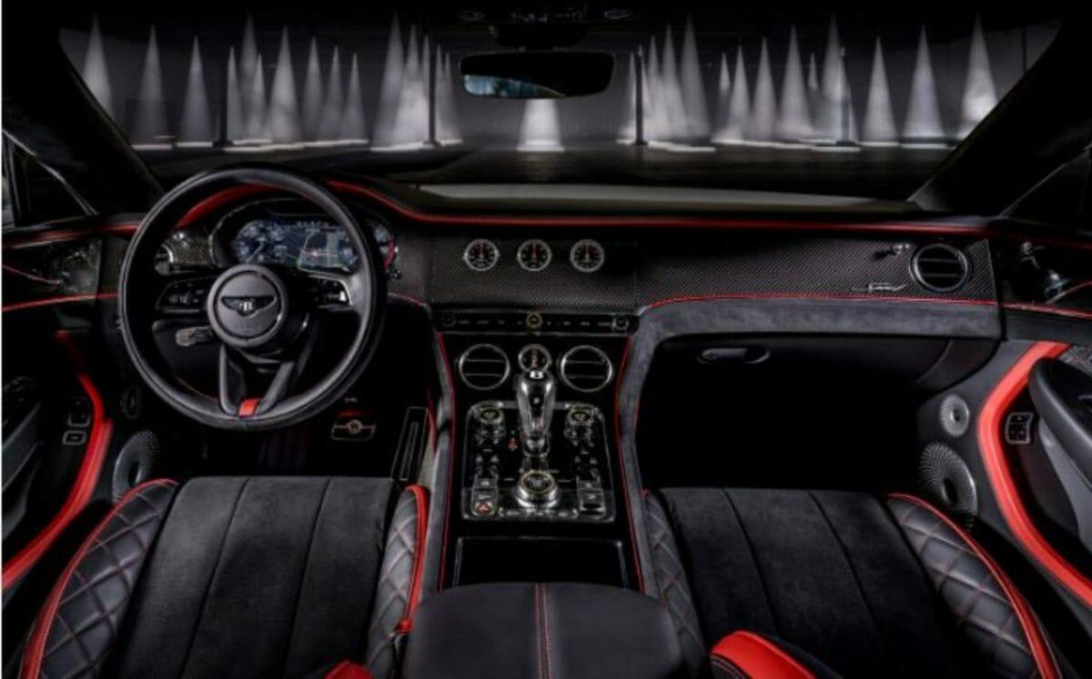 Bentley Continental GT Speed interiors