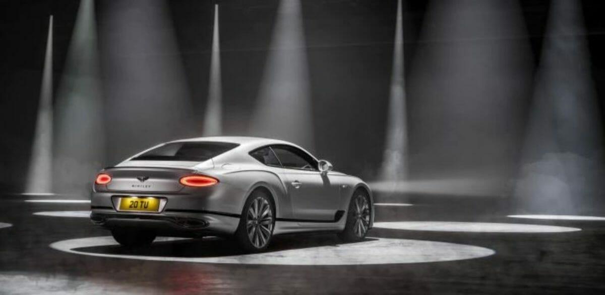 Bentley Continental GT Speed rear 3 quarters