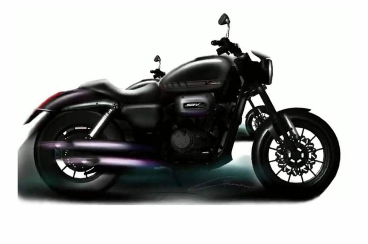 Harley 300cc cruiser leaked