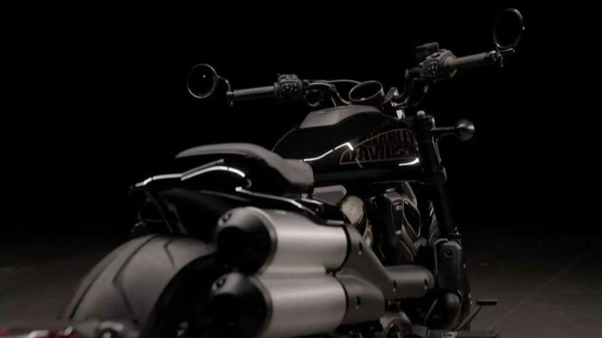 Harley Davidson 1250 custom teased