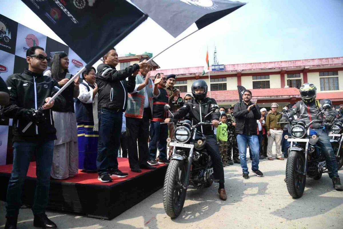 Honda H'ness CB350 Arunachal