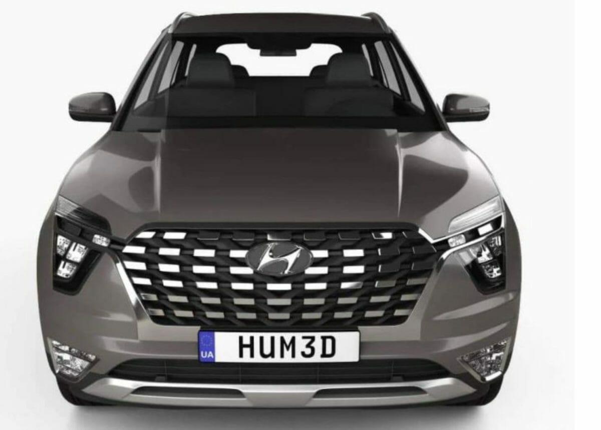 Hyundai Alcazar 3D image front