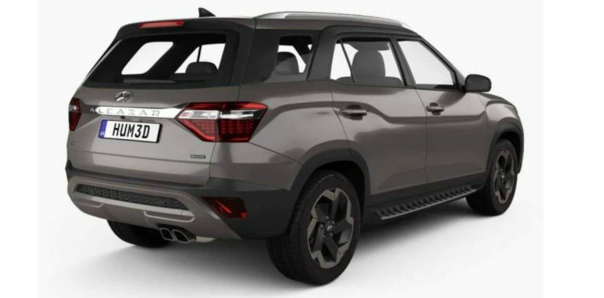 Hyundai Alcazar 3D image rear
