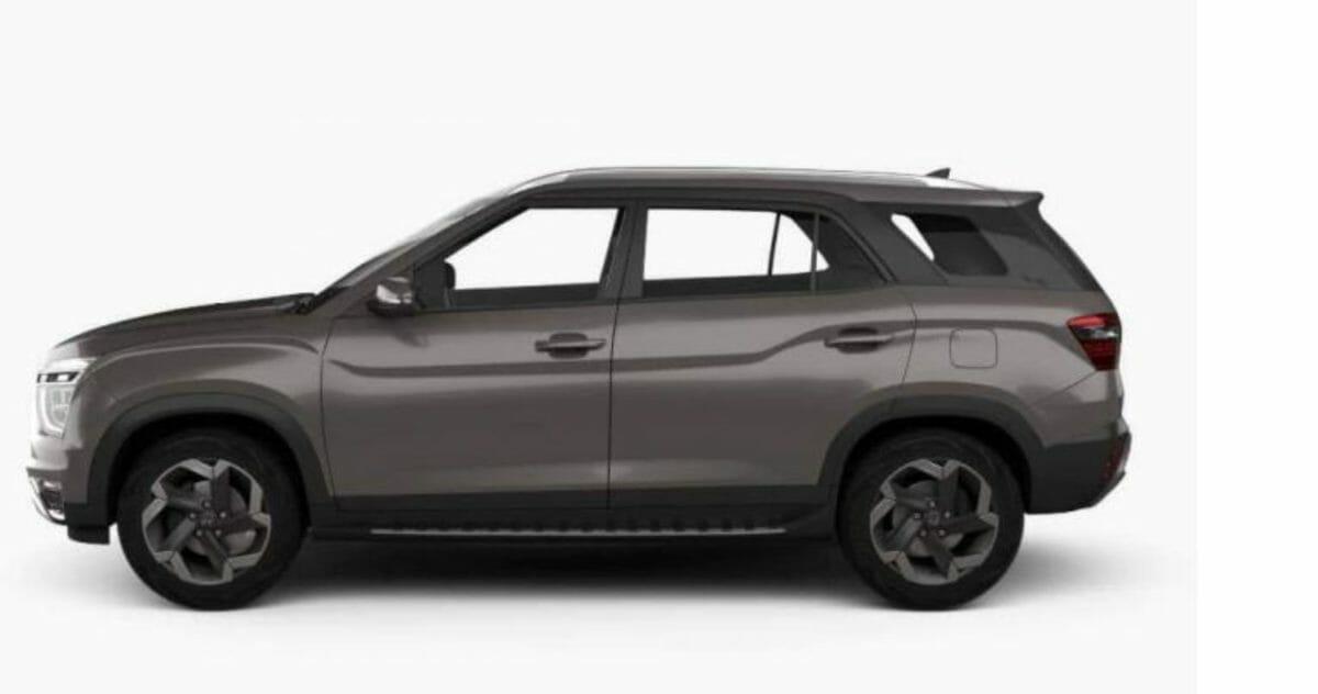 Hyundai Alcazar 3D image sides
