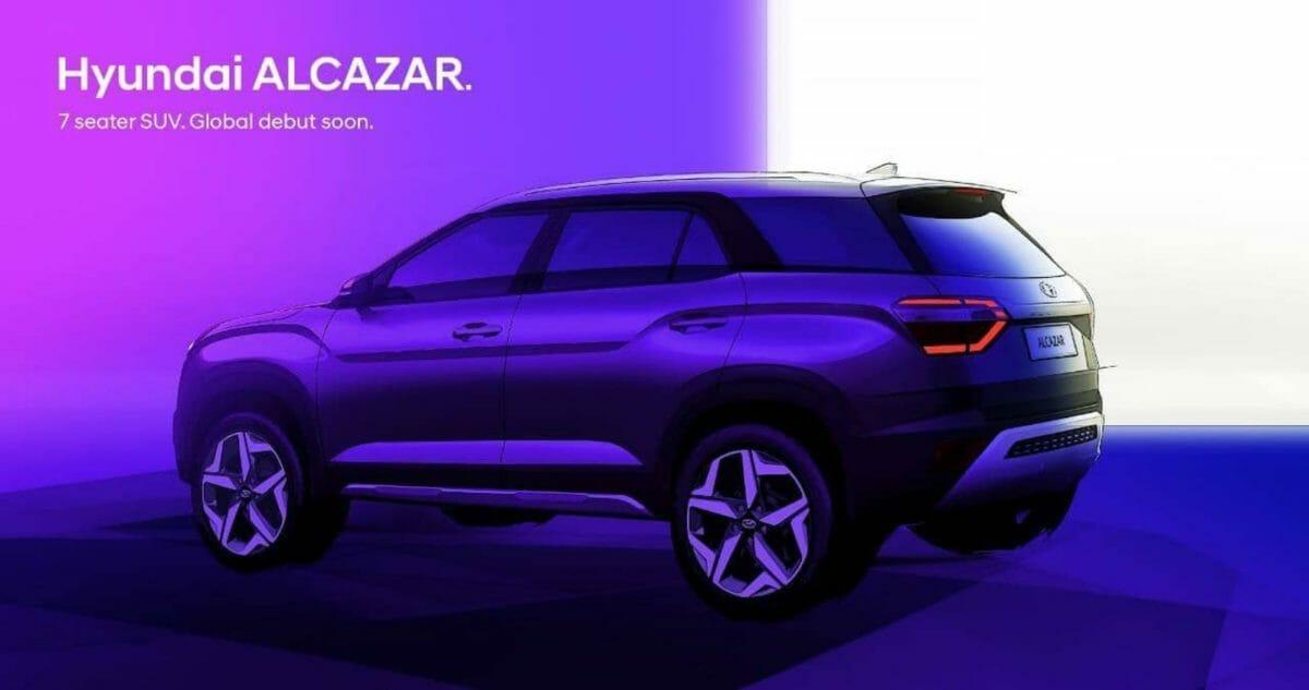 Hyundai Alcazar design sketches