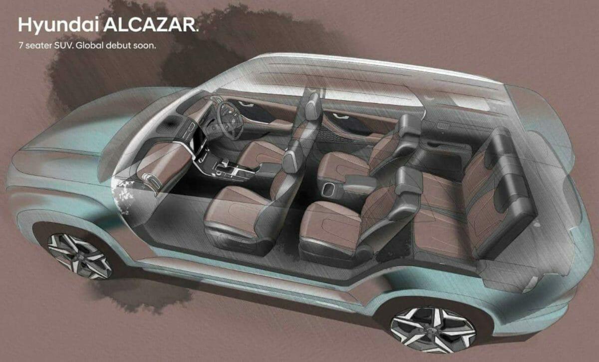 Hyundai Alcazar design sketches (2)