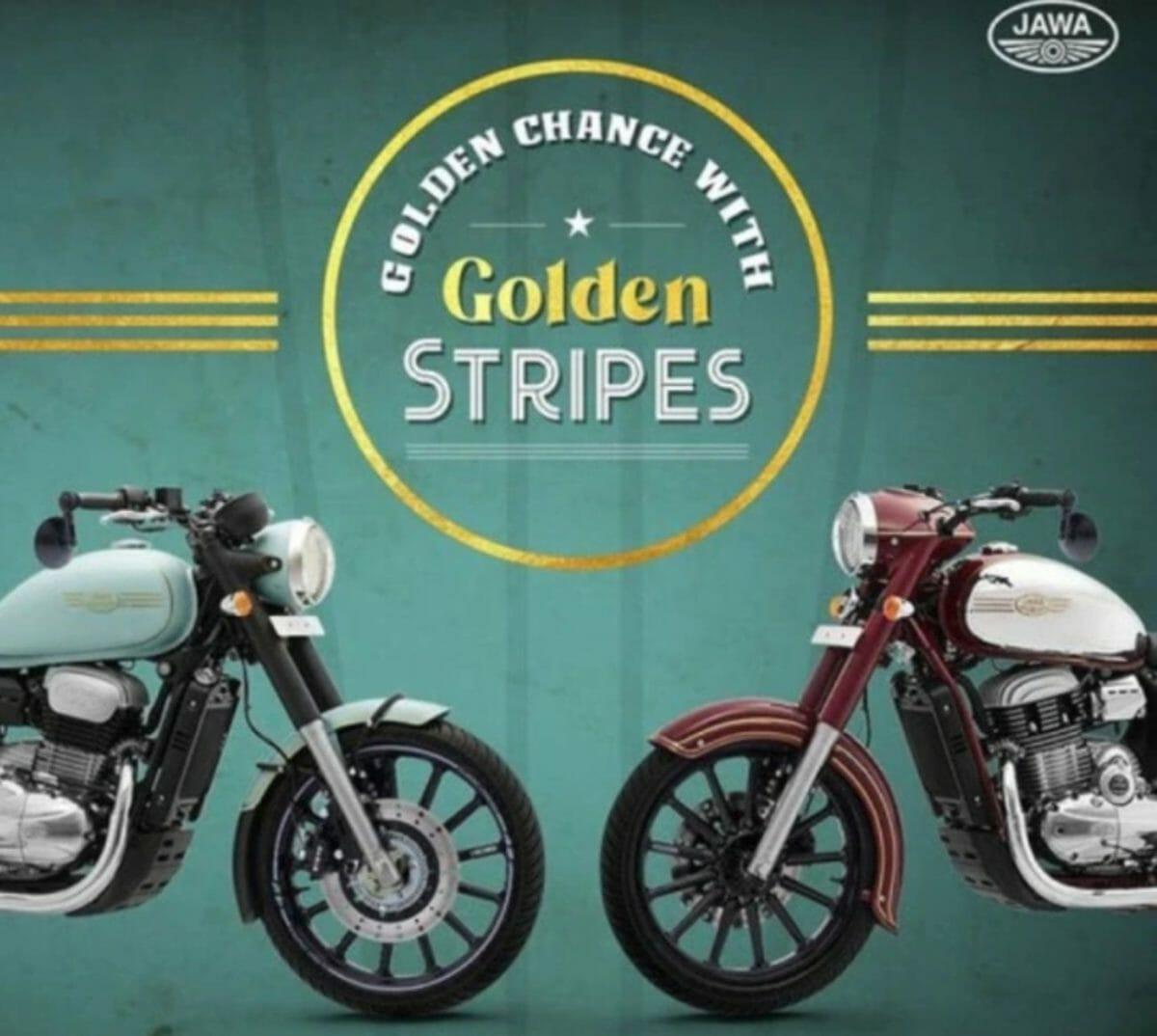 Jawa Golden stripes offer