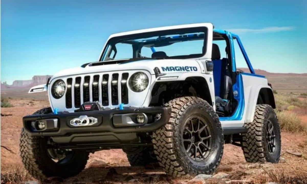 Jeep Magneto front 3 quarters