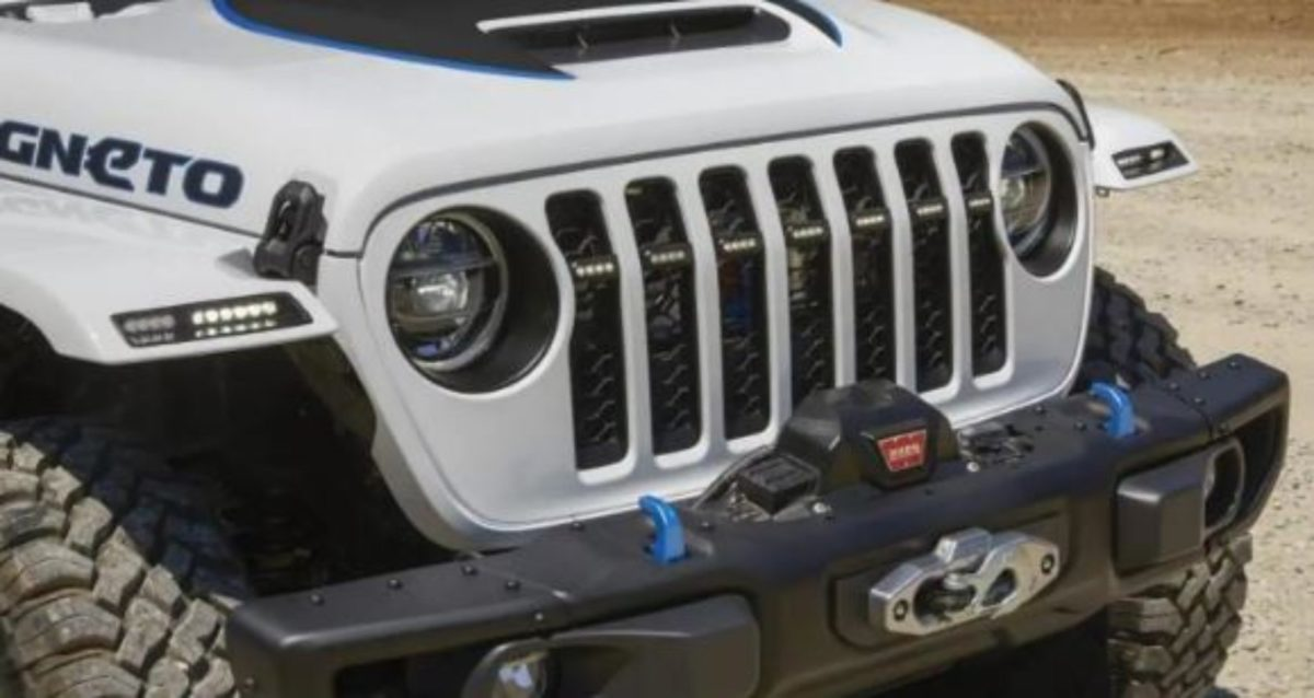 Jeep Magneto front grille