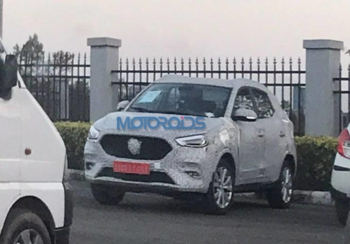 MG ZS Spied (2)