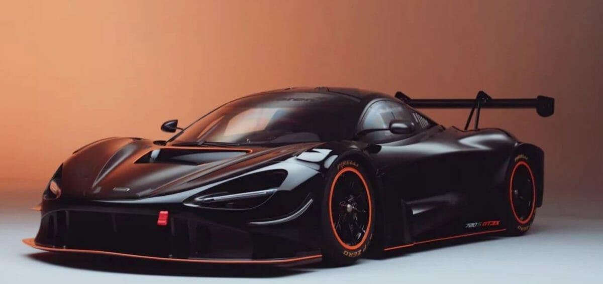 McLaren 720S GT3X front 3 quarters