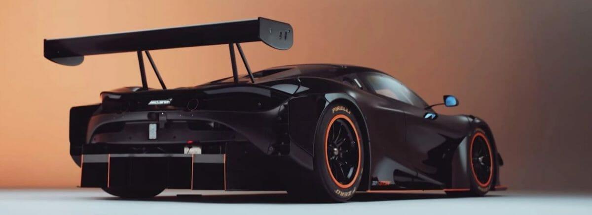 McLaren 720S GT3X rear 3 quarters