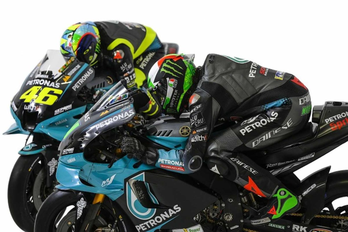 Petronas Yamaha MotoGP Valentino Rossi Morbidelli (2)
