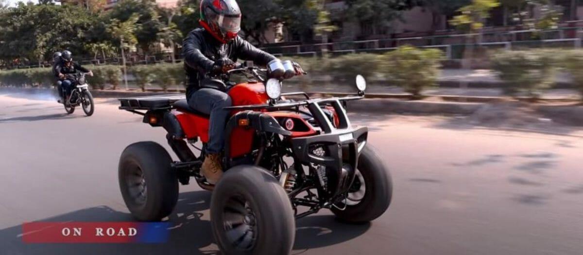 Royal Enfield Himalayan 4x4 ATV 2