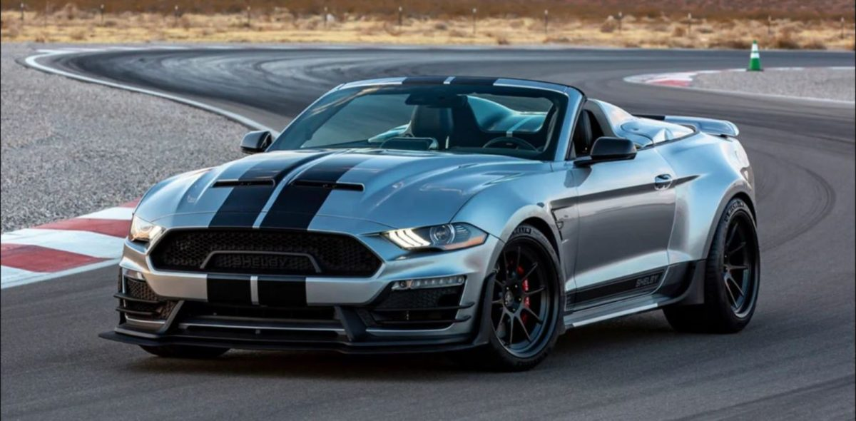 Shelby Super Snake Speedster front 3 quarters