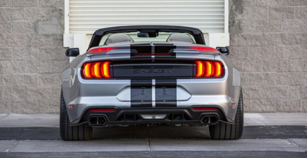 Shelby Super Snake Speedster rear look