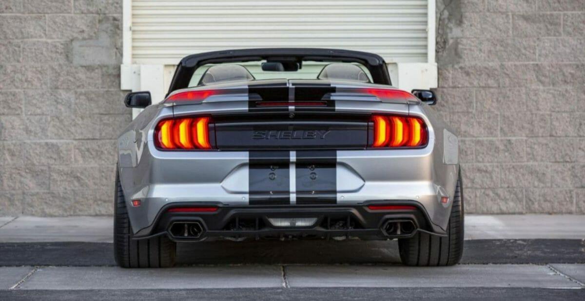 Shelby Super Snake Speedster rear look